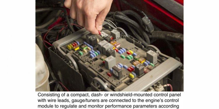 Truck engine programmers