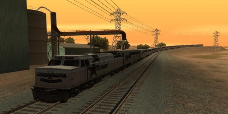 Long Trains Mod