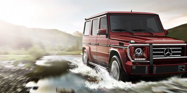 Build your G-Class SUV