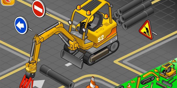 Construction Truck Builder App