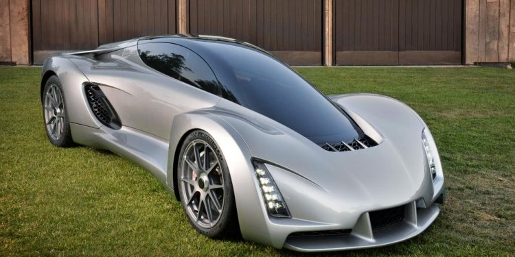 Dream car creator uses 3-D