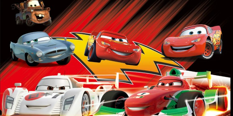 10x10FT Lightning McQueen
