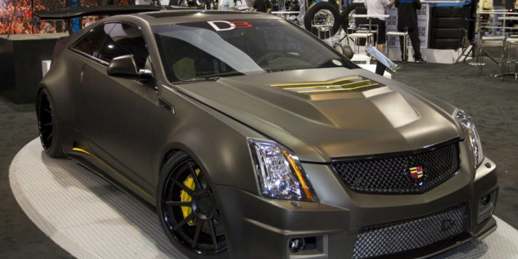 D3 Cadillac CTS V Coupe