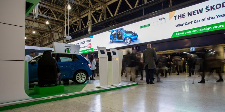 Skoda uses augmented reailty