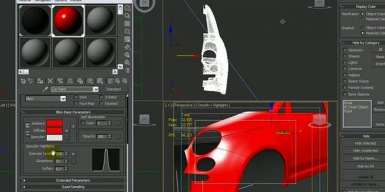Car Paint software