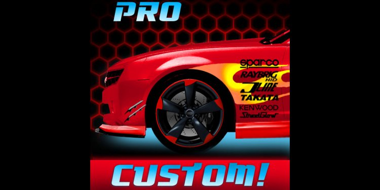 Customize cars app