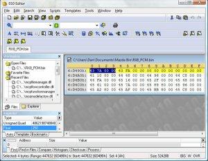 ecu map hex editor