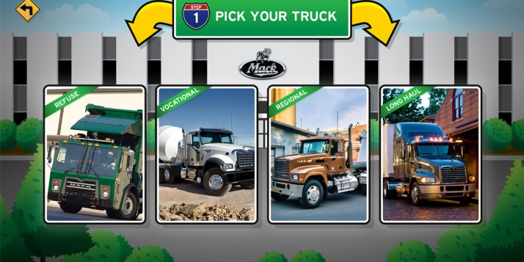 Customize your own truck game